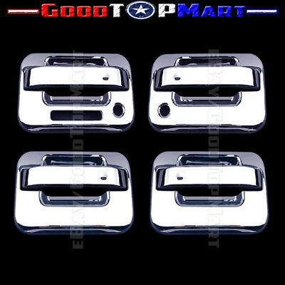 FOR FORD F-150 F150 2004-2014 CHROME 2 DOOR HANDLE COVERS w//oPSK W// KEYPAD 2013