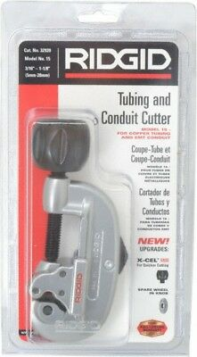 Ridgid 3/16 to 1-1/8 Inch Capacity Screw Feed Tubing Cutter Cuts Copper, Alum...