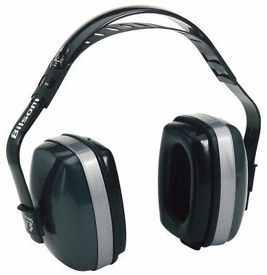 Howard Leight Three Position, 29 Max NRR, Black and Gray Earmuffs Behind the ...