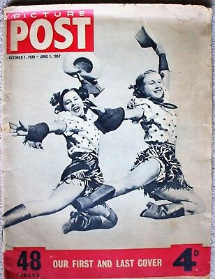 Picture Post Last Ever Edition 1st June 1957 1938-1957 The First and Last
