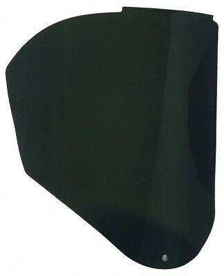 Uvex Polycarbonate Welding Face Shield Window 0.06 Inch Thick, Shade 5, Compa...