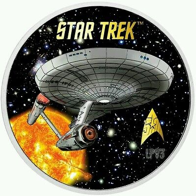 2016 Star Trek 1 Oz Silver Bullion Coin Perth Mint In