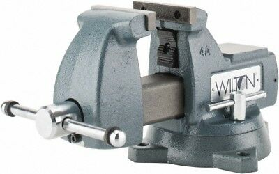 "Wilton 4"" Jaw Width, 4-1/2 Jaw Opening Capacity, 3-7/16"" Throat Depth, Ductil..."