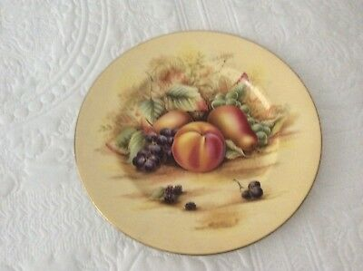 aynsley orchard gold Large Plate