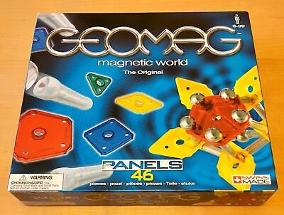 Geomag Magnetic World 46 Piece Construction Set