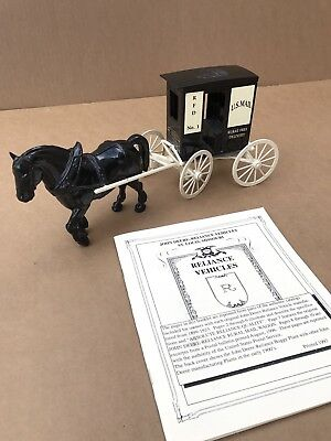 John Deere Reliance U.s.mail Horse And Buggy Die Cast - Rural Free Delivery #1