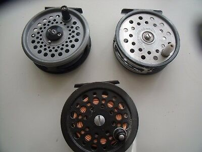 3 X Fly Reels Intrepid Shakespeare   Condex In Vgc