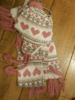 Girls hat and scarf set