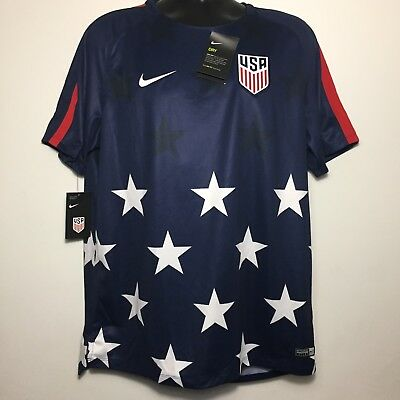d7db250f422 NWT Nike USA 2017 Gold Cup Soccer On Field Game Jersey 100% Authentic (XL