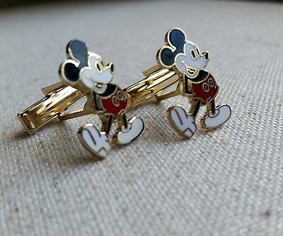 Vintage Walt Disney Production Mickey Mouse Cuff Links