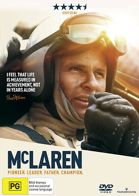 McLaren  - DVD - NEW Region 4