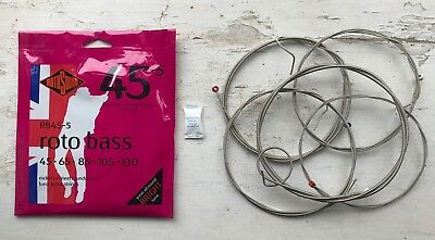 Rotosound RB45-5 Nickel on Steel Roundwound Bass Strings