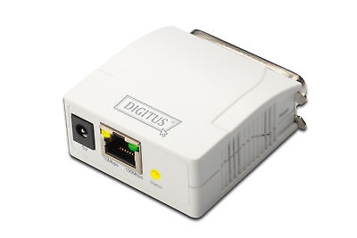 Nuovo Assmann Dn-13001-1 Digitus Print Server Fast Ethernet Parallel In