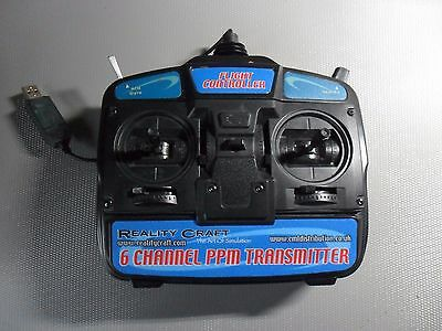 Simulateur de vol RC FLIGHT MASTER avec radiocommande et extension CD ROM