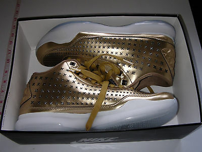Nike Kobe X Mid EXT Men's Basketball Shoes - GOLD - Size UK 9.5