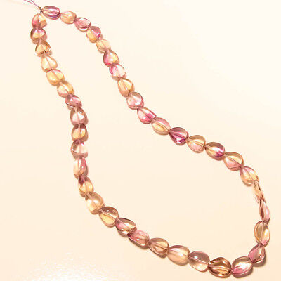 AAA Gorgeous AMETRINE NATURAL BEADS STRAND LENGTH 16'' 96 Ct Weight
