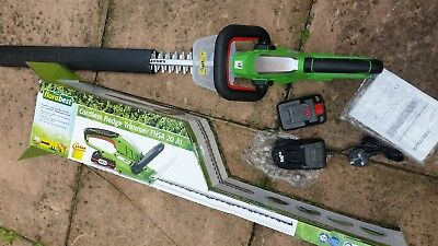 Florabest 20V Li-Ion 2ah battery Powerful Cordless Hedge Trimmer blade 580(mm)