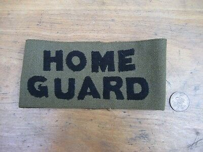 WW2 Home Guard armband, Officer variant