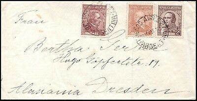 Argentina cover 1936, to Germany