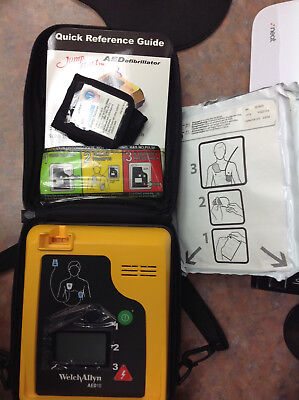 Welch Allyn AED 10 with Case, Battery, and Pads AED10