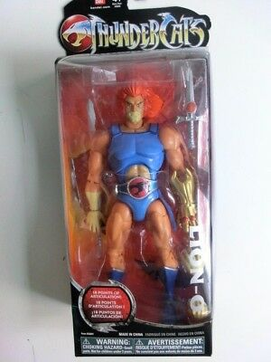 Thundercats Classics Lion-O Action Figur Signed By Larry Kenny Mosc Neu Ovp