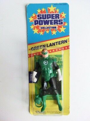 Super Powers Green Lantern Action Figur Mosc Small Card Kenner 1986