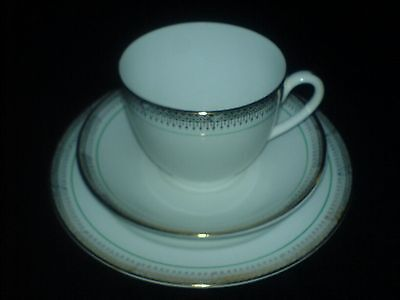 Paladin China E HUGHES & CO Bone China Cup/Saucer/Plate Trio Set x 1 ( 2 Avail