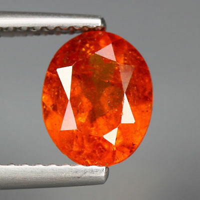 2.36 Cts_Glittering Fire_100 % Natural Unheated Spessartite Garnet_Srilanka