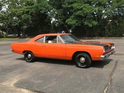 1969 Plymouth Road Runner ROAD RUNNER 1969 Plymouth Road Runner Numbers Matching 383