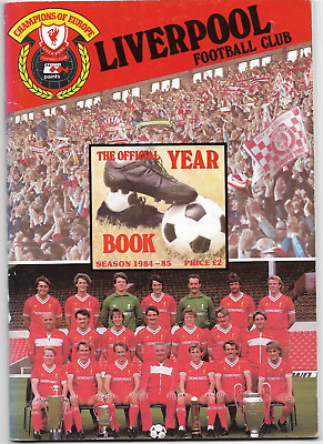 LIVERPOOL F.C. The Official Year Book Season 1984-85