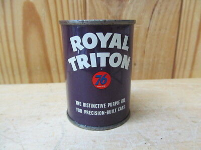 Royal Triton Purple Motor Oil by Union 76 Advertising Can Coin Bank