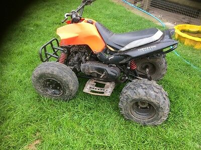 quad 100cc 2 stroke running ready to use adult size auto