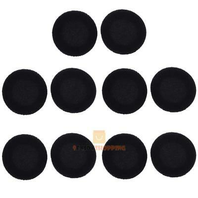 5 Pair x 35/40/45/50/55/60mm Foam Ear Pad Sponge Cover For Earphone Headset