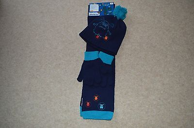 Lupilu Boys Childrens Hat , Scarf & Gloves 3 piece Set BNWT
