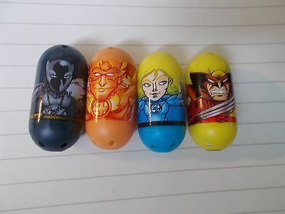 Marvel Mighty Beanz Lot, Black Panther 48, Wolverine 44, Human Torch 18 & More!