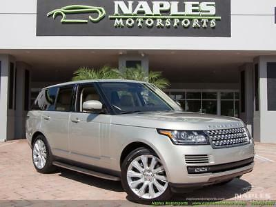 2014 Land Rover Range Rover Supercharged 2014 Land Rover Range Rover Supercharged Automatic 4-Door SUV