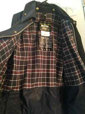 Barbour Bedale $426 New ~ Waxed Coat Jacket ~ Mens 42 Large ~ Navy ~ Nwot ~A+
