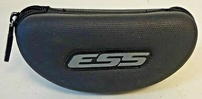 """ESS Sunglasses Case  Black """"Case Only"""" Gently Used"""