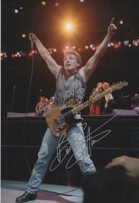 Bruce Springsteen Genuine Autographed 12x8inch photograph