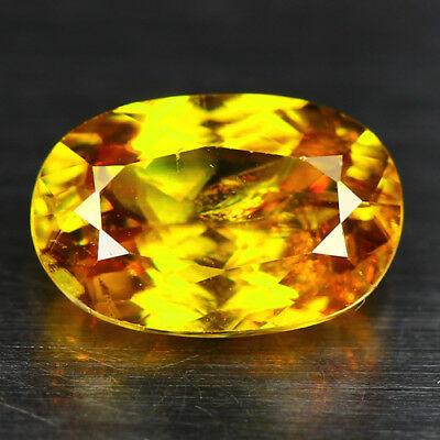 1.60 Cts_Diamond Top Luster_100 % Natural Unheated Golden Yellow Red Spot Sphene