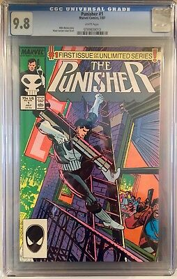 Punisher #1 CGC 9.8 White Pages Netflix Series!