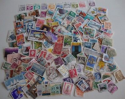 Small Collection of 150 World Postage Stamps, Used.