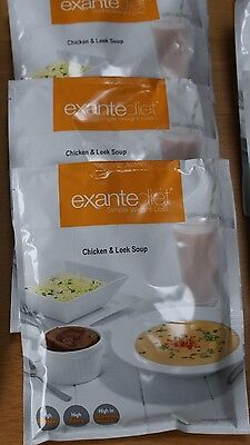 Exante Diet Meal Replacement soups (17 pieces)