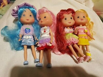rare strawberry shortcake vintage playmates doll country fun banana candy and 3