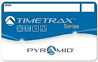 Pyramid employee swipe cards numbered 1-50 for Pyramid TimeTrax TTEZ, TTEZEK,