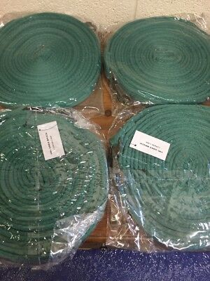 4 Lunge Lines Green Cushion Web 8metre  Also Ideal Long Reins