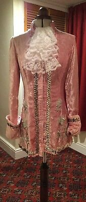 Georgian Style Pantomime Prince Charming Jacket Theatrical Stage Costume