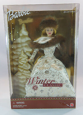 Barbie Winter Classic Collectibles Edition Mattel 50247 New JH