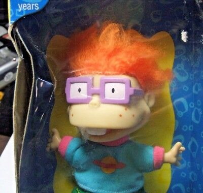 "Vtg Rugrats CHUCKIE Collectible 4"" Nickelodeon 69254 Mattel toy"