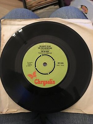 "TIR NA NOG I'm Happy To Be (On This Mountain) UK 7"" RARE 1970 CHRYSALIS WIP 6090"